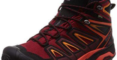 salomon botas rojas de montaña