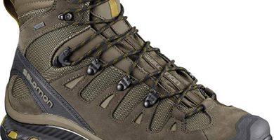 salomon botas verdes de montaña