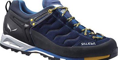 salewa zapatillas azules senderismo