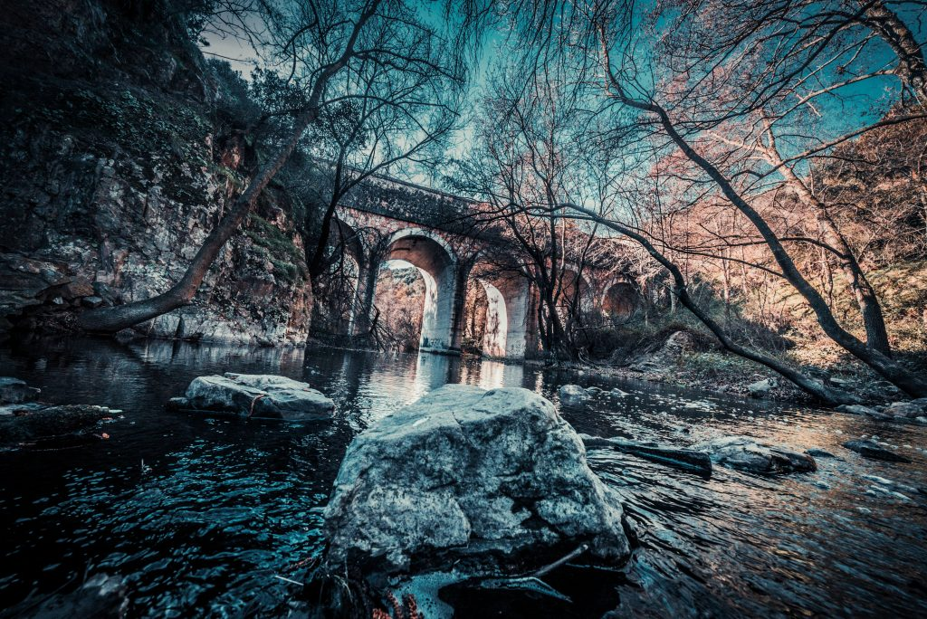 Cañón del Río Guadalix fotografia de murderpink