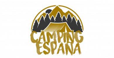 logo camping españa todo de senderismo